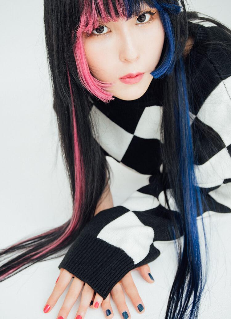got2bで青とピンクに変化したDaokoの見える色、表現したい色。