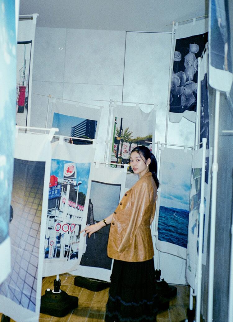 森田想、渋谷の中心でアートに触れる。